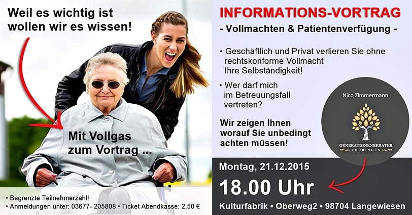 Informationsvortrag